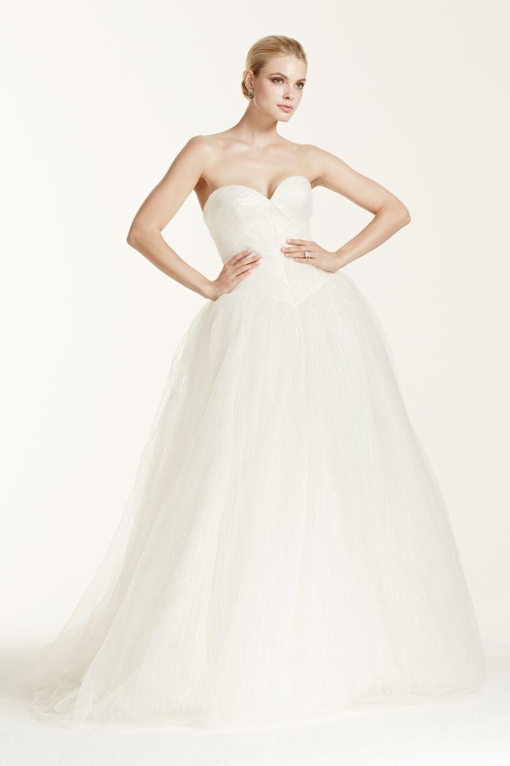20 trendiest wedding dresses under 1 000 everafterguide for Zac posen short wedding dress