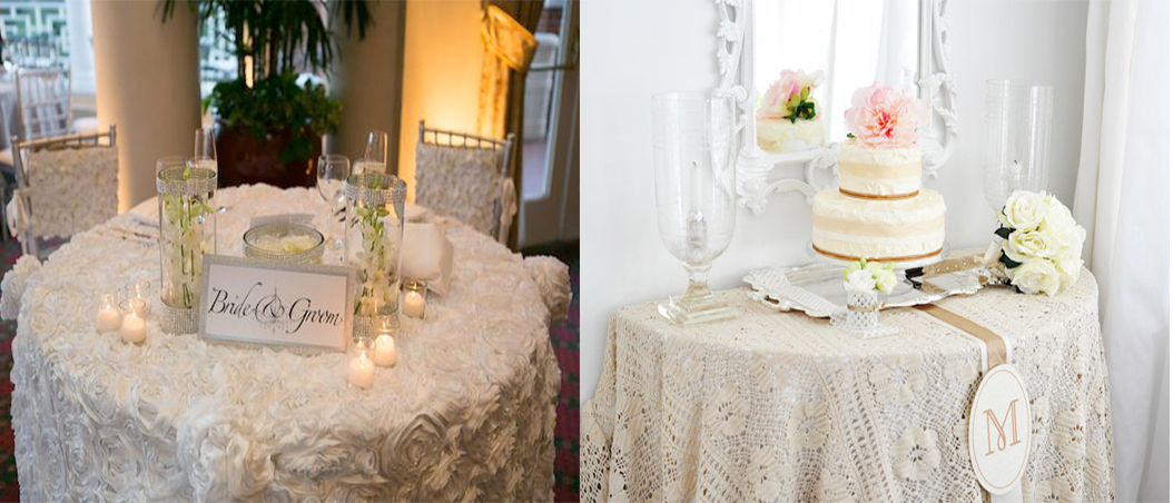 Tips and tricks to decorate your wedding tables for How to dress a wedding table