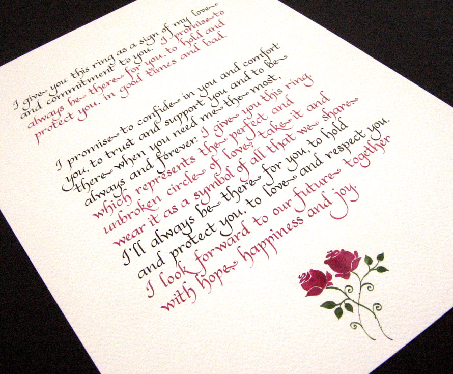 A Fail-Proof Guide to Writing Your Own Wedding Vows