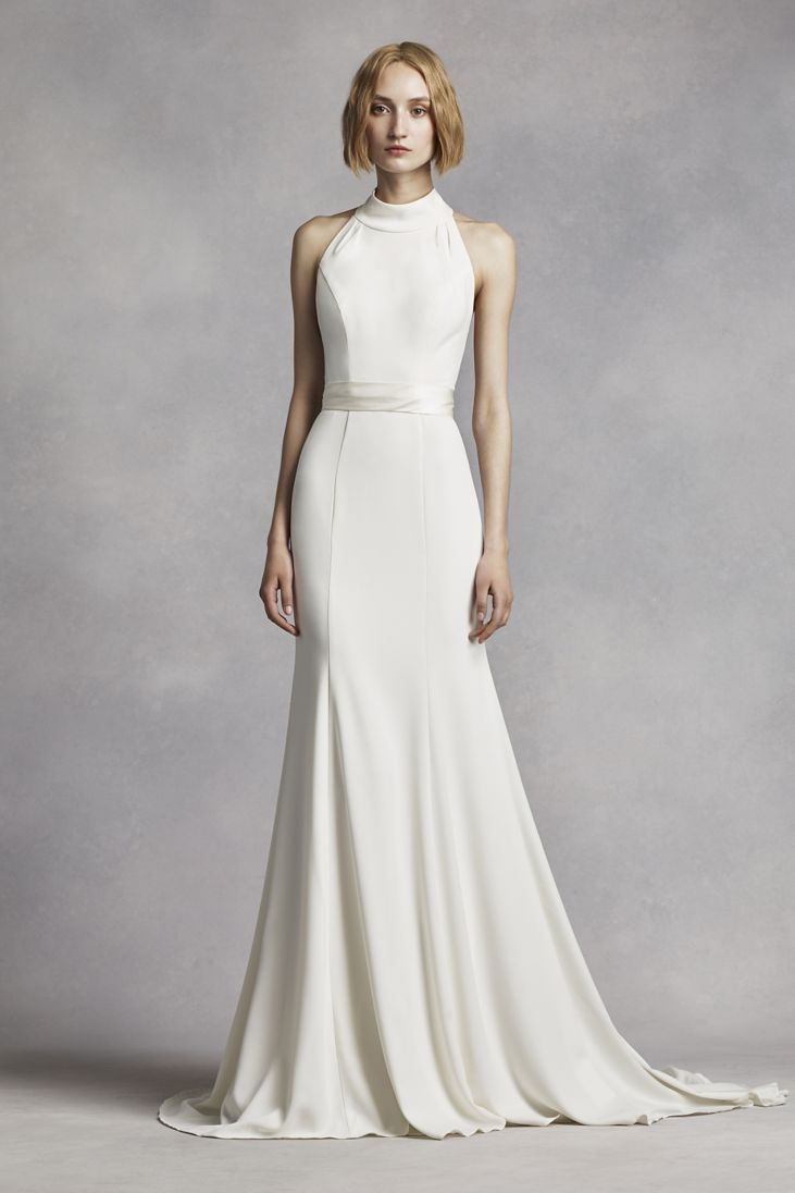 20 Best Choices Of Sheath Wedding Dress Everafterguide