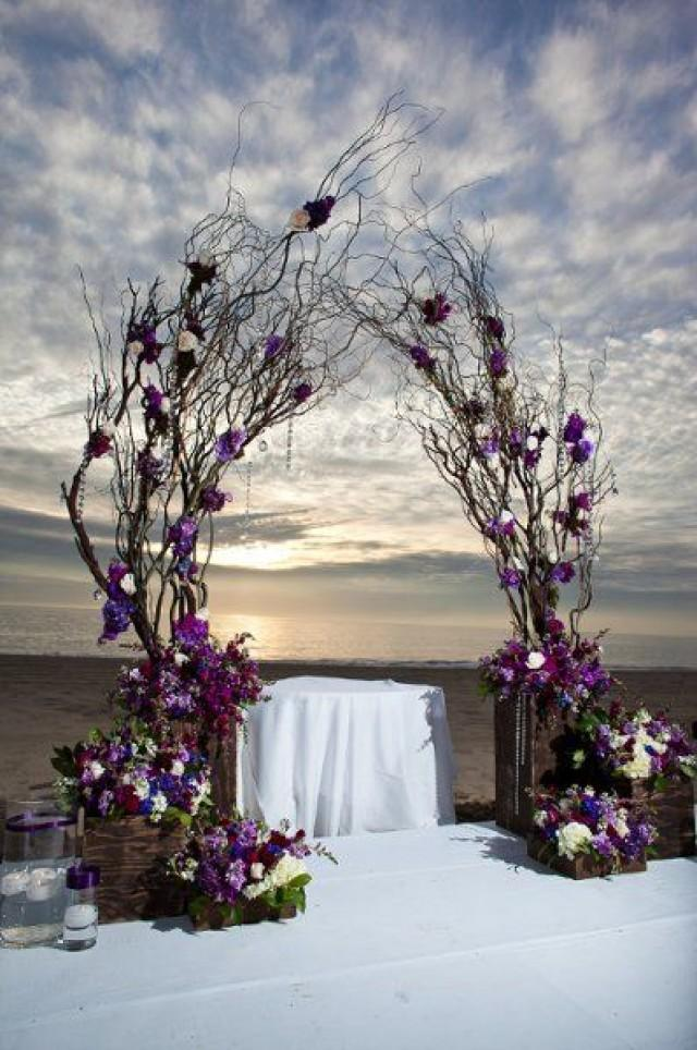Unique alternative ideas for decorating the altar for a for Altar wedding decoration