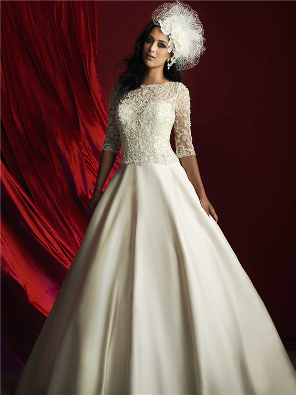 24 Elegantly Tailored Wedding Dresses For Pear Shaped Body