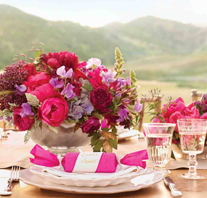 Pink Wedding Centerpiece Ideas: 28 Centerpieces For Round Tables (in Different Styles