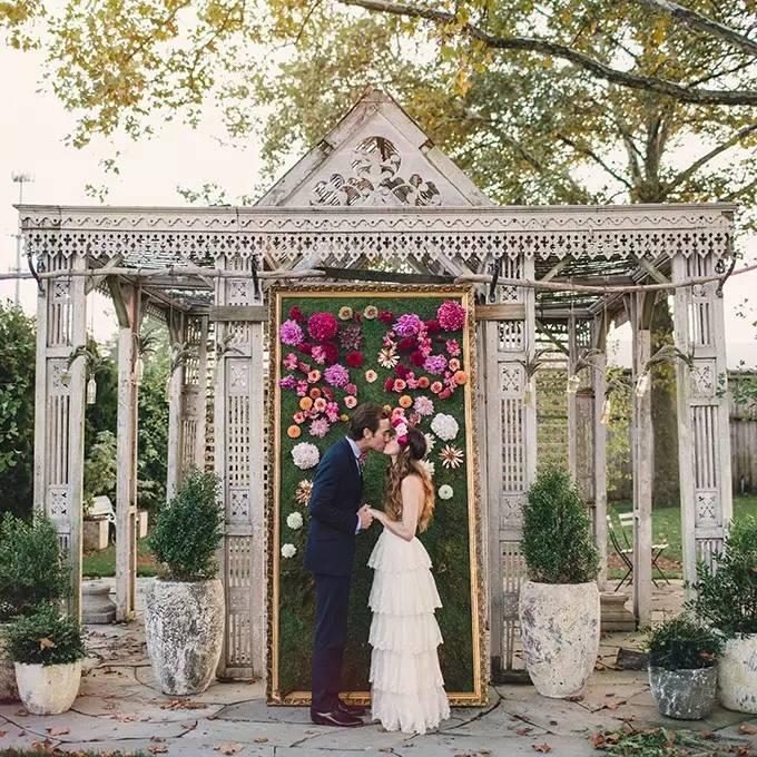 Wedding Ceremony Altar: Unique Alternative Ideas For Decorating The Altar For A