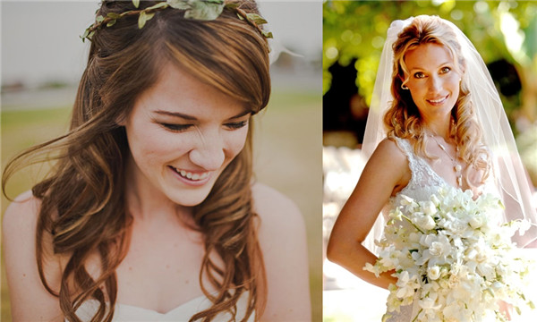 Hair Styles For Short Hair Brides: 18 Best Wedding Hairstyles For Women With Thin Hair