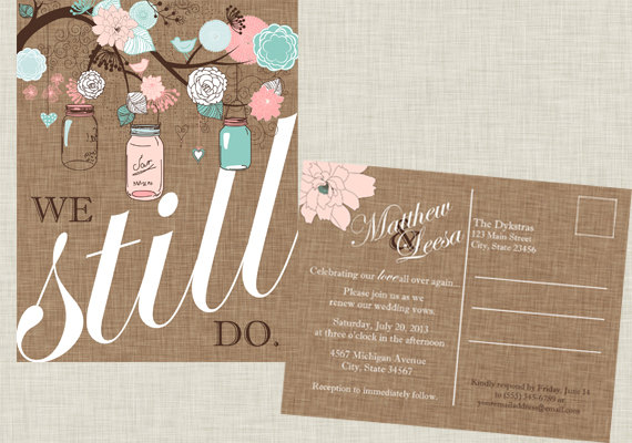 It's just a photo of Free Printable Vow Renewal Invitations for small backyard