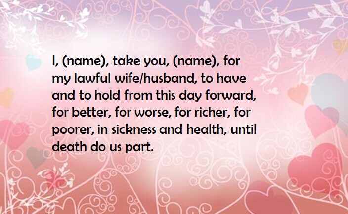 Detailed Explanation About Catholic Wedding Vows - EverAfterGuide