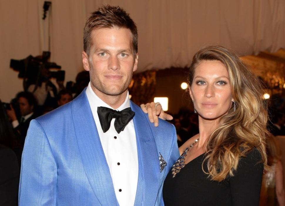 Tom Brady and Gisele B...