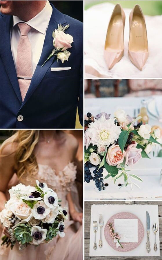 12 Perfect Combinations for Fall Wedding Colors ...