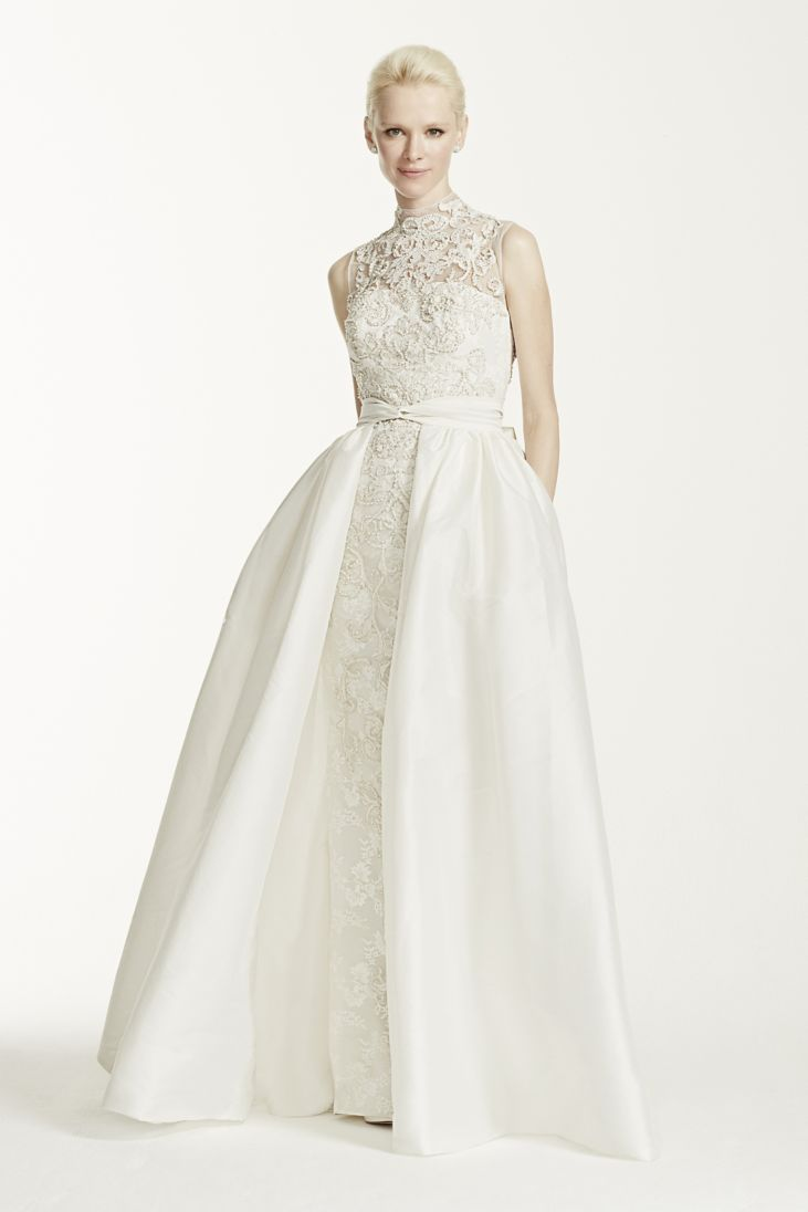 Wedding Dresses With High Neck : Keep up with the kardashians a high neck wedding