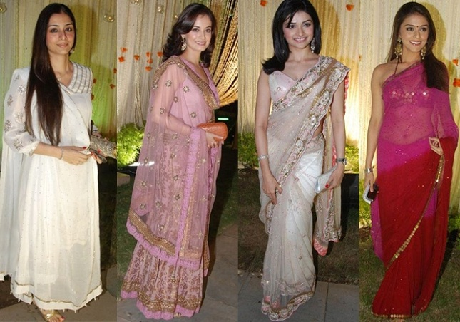 What to wear to an indian wedding everafterguide for Indian wedding dresses for guests