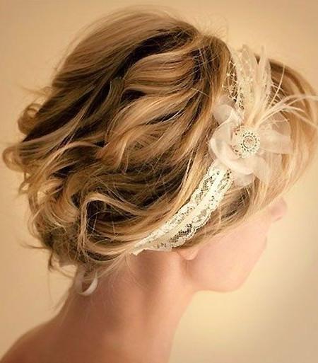 Strange Chic And Romantic 20 Best Wedding Hairstyles For Short Hair Short Hairstyles For Black Women Fulllsitofus