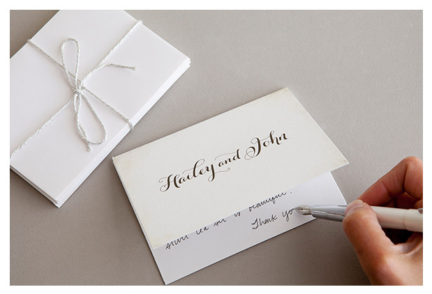 Wedding Thank You For Gift Card - Wedding Invitation Sample