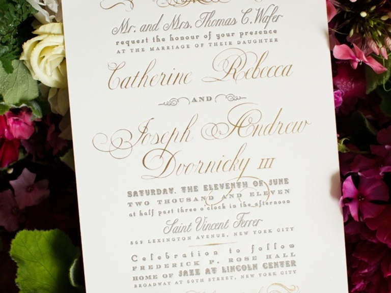 What To Include In A Wedding Invitation: What To Include In Wedding Invitation