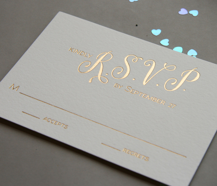 foil sted wedding invitations - 28 images - how to diy foil wedding invitations diy gold foil ...