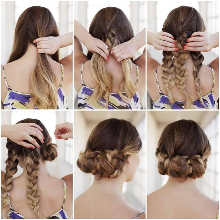 Brilliant Bun Hairstyles With Pictures Within 5 Steps Everafterguide Short Hairstyles Gunalazisus