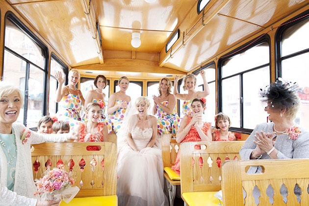 types of wedding shuttle services and costs everafterguide
