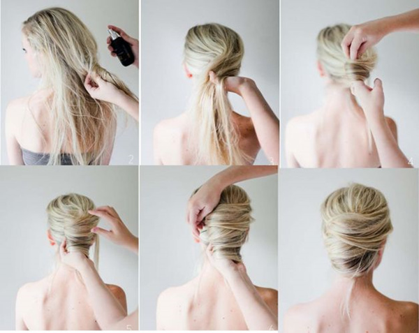 Amazing Bun Hairstyles With Pictures Within 5 Steps Everafterguide Short Hairstyles Gunalazisus