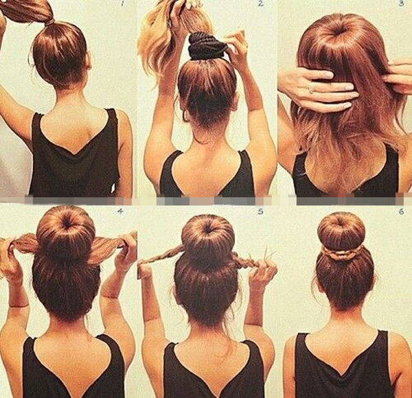 Pleasing 10 Easy Wedding Updo Hairstyles Step By Step Everafterguide Short Hairstyles Gunalazisus