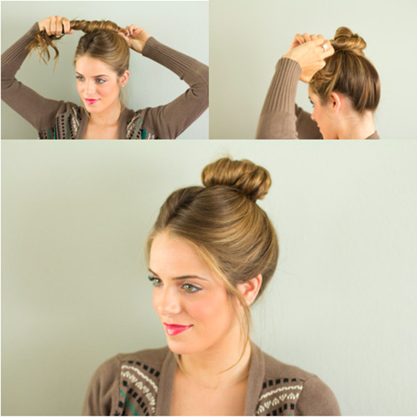 Enjoyable Bun Hairstyles With Pictures Within 5 Steps Everafterguide Short Hairstyles For Black Women Fulllsitofus