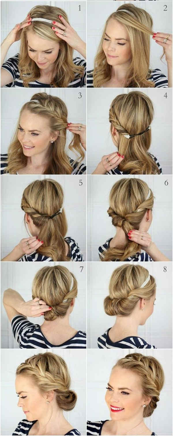 Admirable Bun Hairstyles With Pictures Within 5 Steps Everafterguide Short Hairstyles Gunalazisus