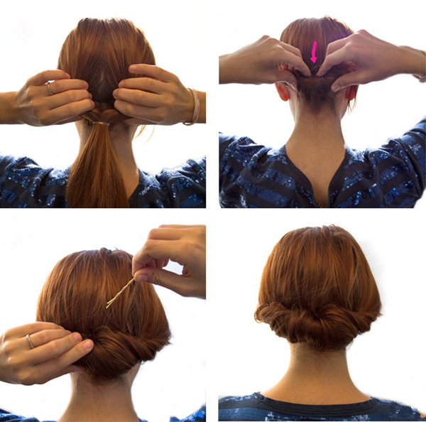 Peachy Bun Hairstyles With Pictures Within 5 Steps Everafterguide Short Hairstyles Gunalazisus