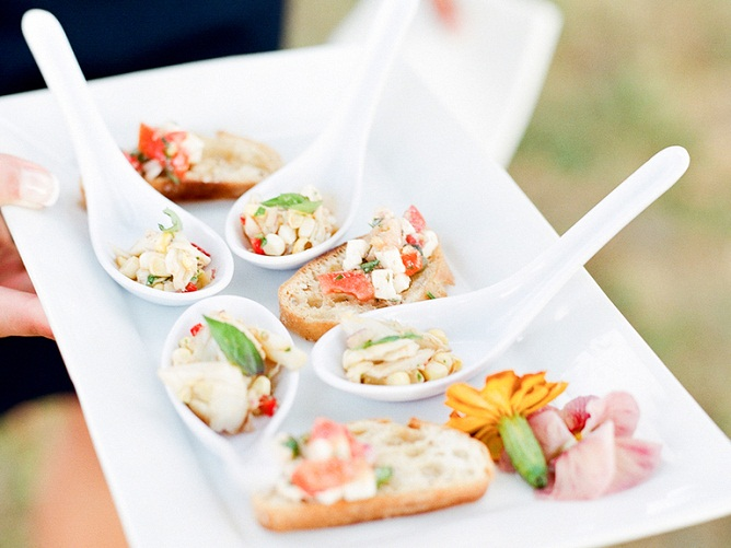 Heavy appetizers for wedding reception