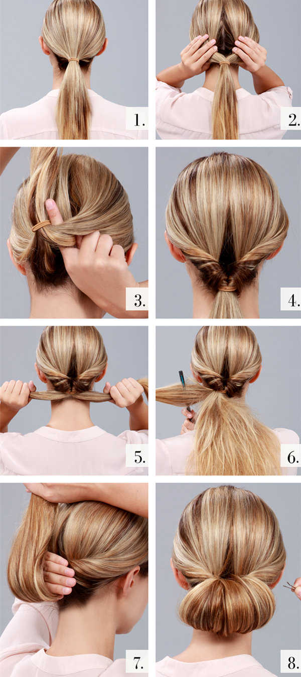 Sensational 10 Easy Wedding Updo Hairstyles Step By Step Everafterguide Hairstyle Inspiration Daily Dogsangcom