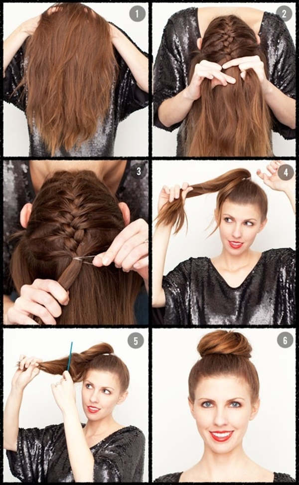 Marvelous Bun Hairstyles With Pictures Within 5 Steps Everafterguide Short Hairstyles For Black Women Fulllsitofus