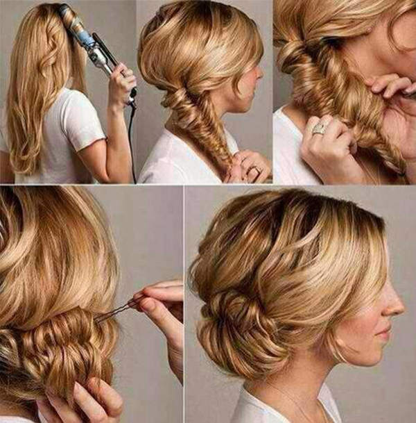 Marvelous Bun Hairstyles With Pictures Within 5 Steps Everafterguide Short Hairstyles Gunalazisus