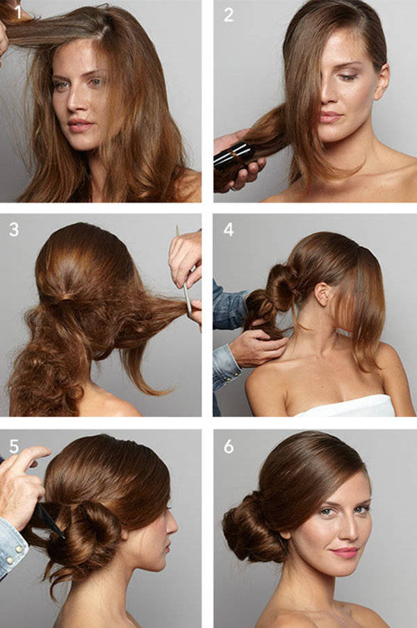 Fantastic 10 Easy Wedding Updo Hairstyles Step By Step Everafterguide Short Hairstyles Gunalazisus