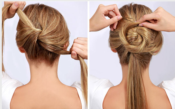 Surprising 10 Easy Wedding Updo Hairstyles Step By Step Everafterguide Short Hairstyles Gunalazisus