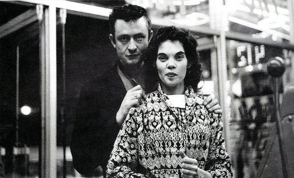 Young Johnny Cash And Vivian I Walk the Line: Johnn...