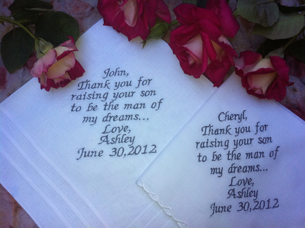Wedding Gift Message For Husband : ... wedding ceremony or for their help during the planning of the wedding
