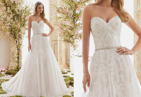 Wedding dresses for broad shoulders everafterguide for What kind of dress do you wear to a wedding