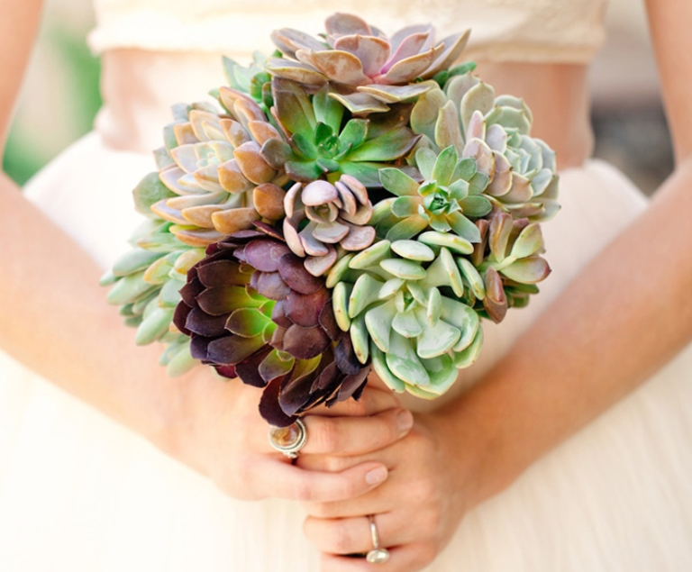 wedding bouquets with succulents bright pastel or 20 fabulous summer wedding 8545