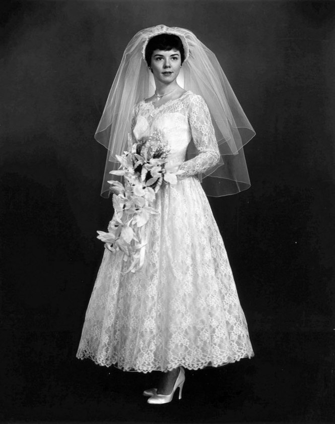 1910s 1960s Wedding Dresses Through The Decades