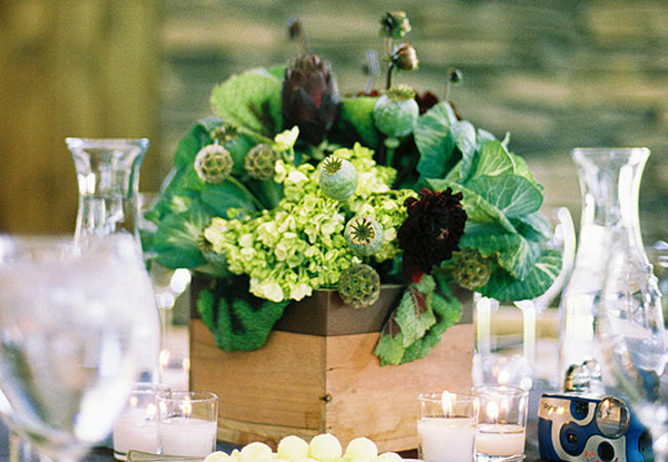 25 Fabulous Wedding Centerpieces Without Flowers