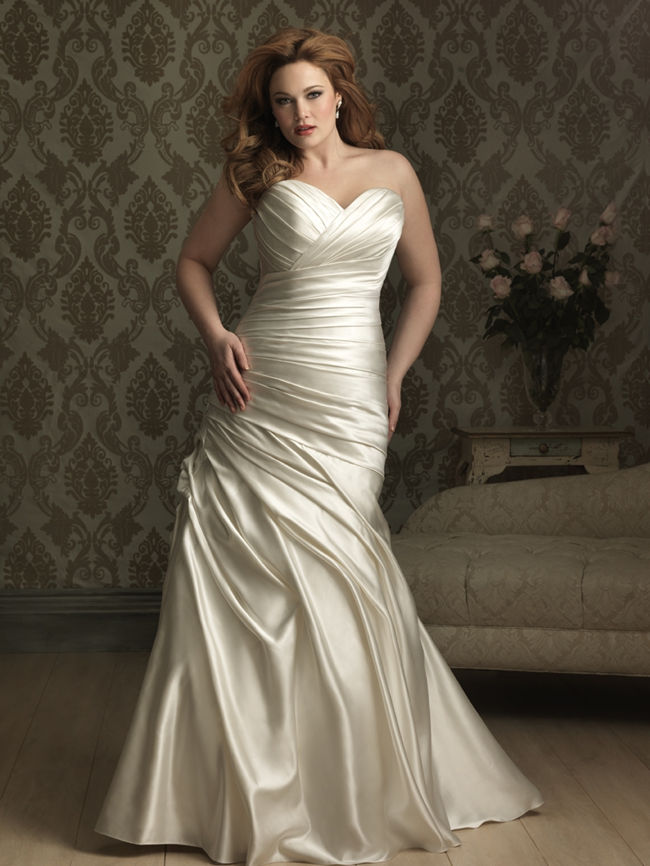 Best Wedding Dresses For Petite Curvy : Best curvy wedding dresses for plus size brides