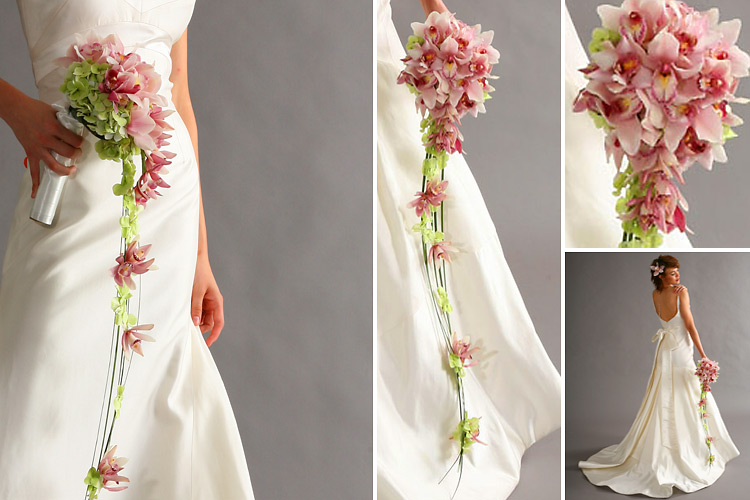 Unique Bridal Flower Bouquets : Be a stunning bride most beautiful wedding bouquet