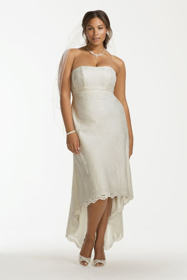 25 best curvy wedding dresses for plus size brides for Wedding dresses for short curvy brides