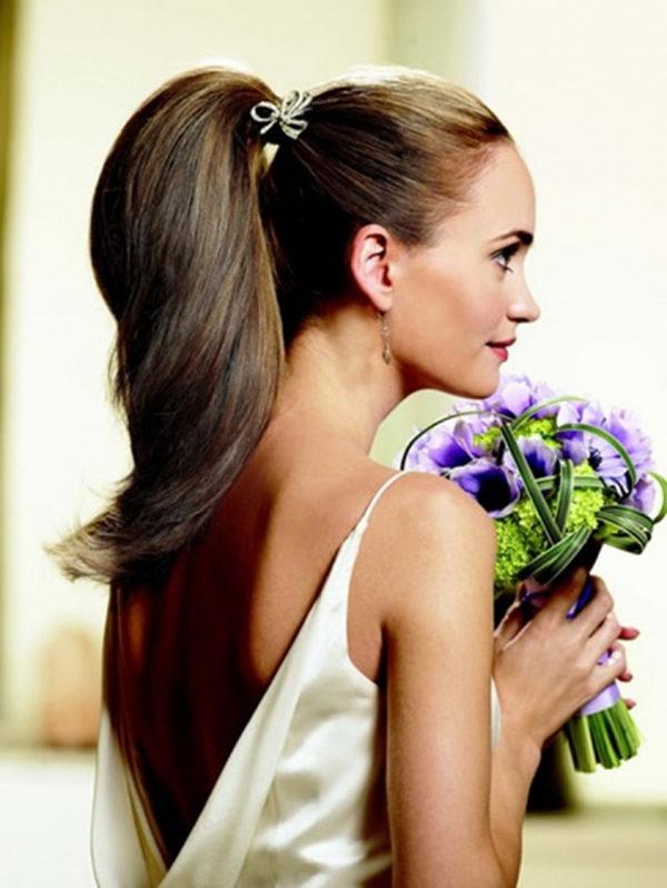 Phenomenal Straight Wedding Hair Inspirations For Your Big Day Everafterguide Short Hairstyles Gunalazisus