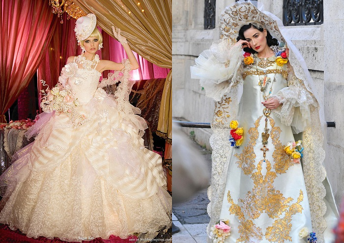 10 Trashiest Wedding Dresses 66