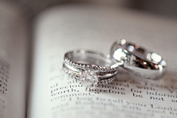 wedding ring etiquette how to wear everafterguide