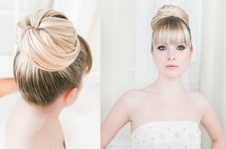 Magnificent Waves Updos And Elegant Buns 20 Best Wedding Hairstyles For Short Hairstyles Gunalazisus