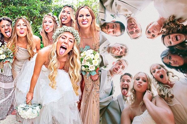 funny bridesmaids photo ideas - The Hilarious Moments Funny Bridal Party