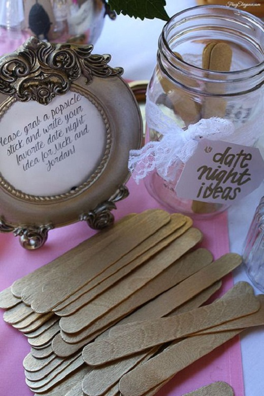 Date Night Wedding Shower Gift : List of Fun Bridal Shower Ideas to Get You Inspired - EverAfterGuide