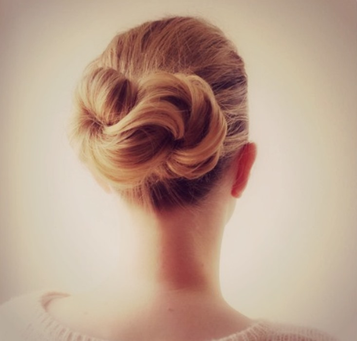 Wedding Hairstyle Knot Me Pretty
