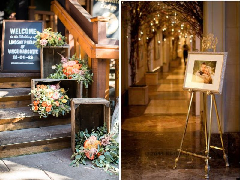 24 stunning ideas for hall decorations for weddings for Hall decoration pictures