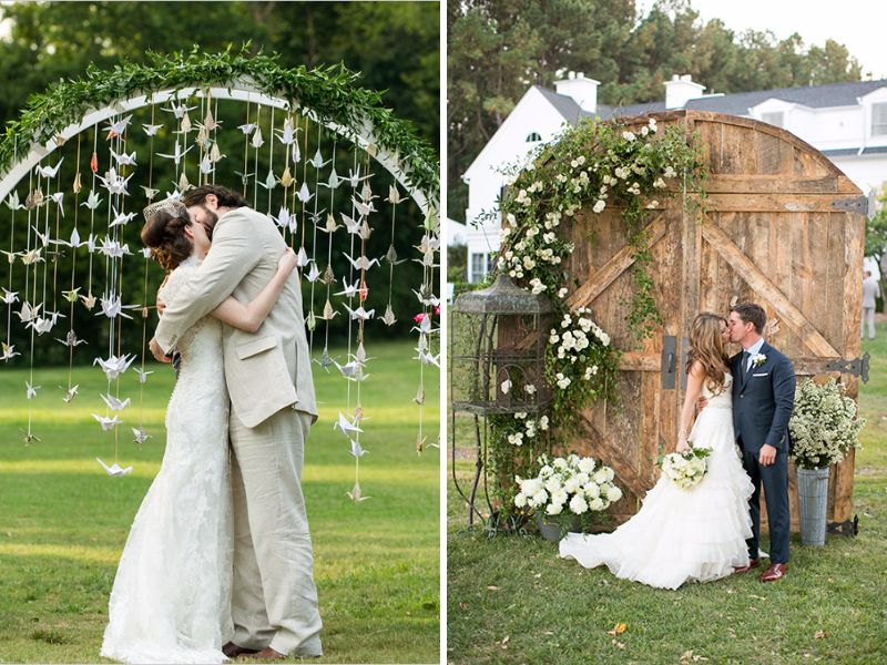 Outdoor Wedding Ideas Tips From The Experts: Backyard Wedding Ideas And Tips